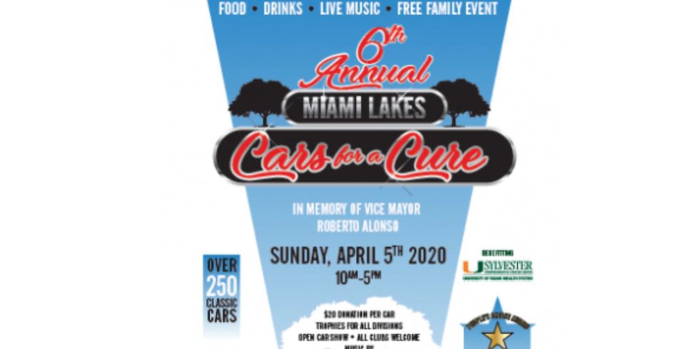 6th Annual Cars for a Cure