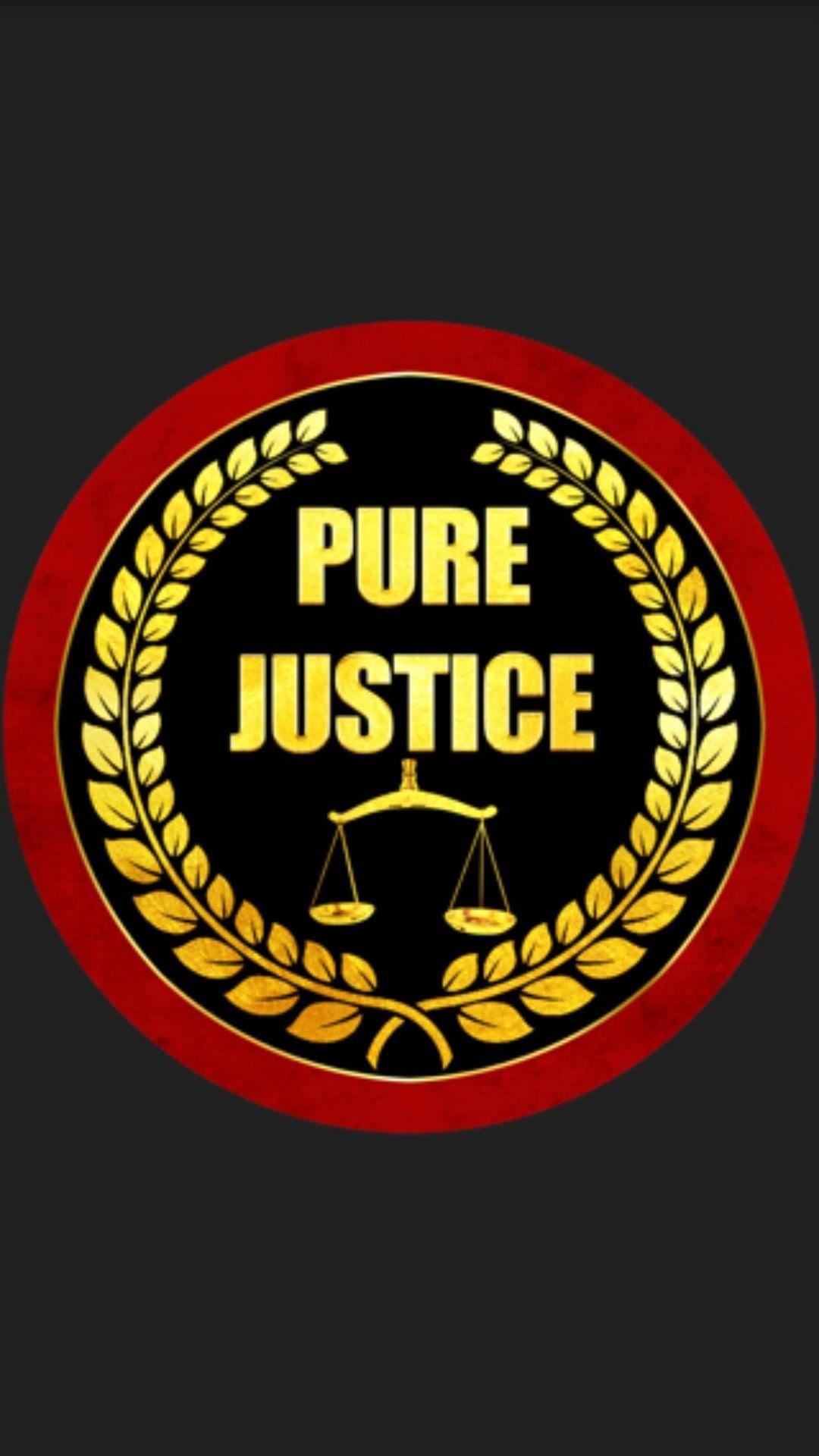 PURE JUSTICE LOGO