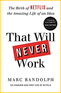 This book is about ... the birth of Netflix and how to create a company.