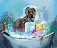 Monster Loves Bathtime