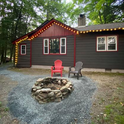 Fireside Pines Backyard Firepit