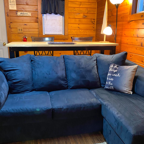The comfiest couch perfect for naps