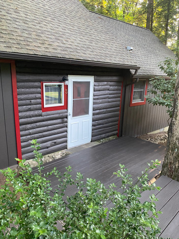 Bear Claw Cabin Entrance