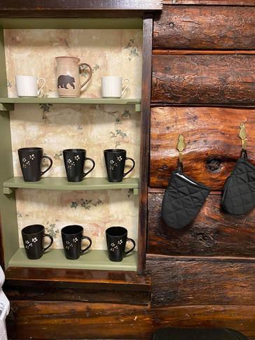 Bear Claw Cabin Kitchen