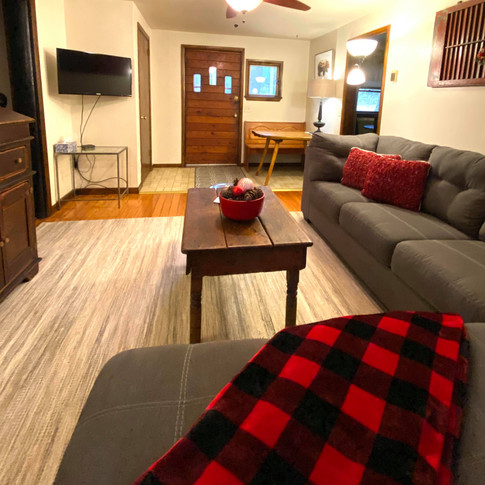 Bear Claw Cabin Living Room