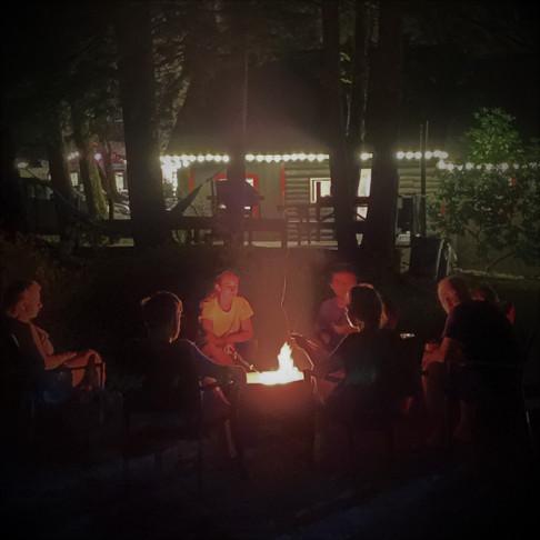 Bear Claw Cabin Fire Pit