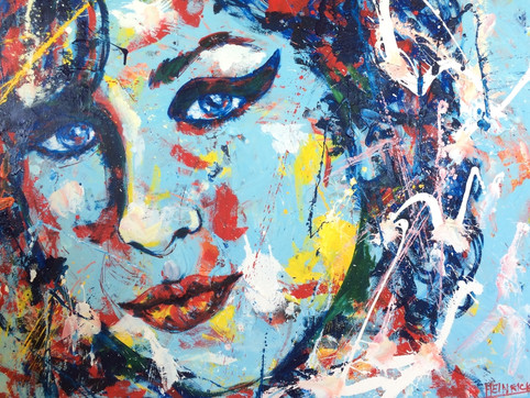 "Amy | 36"" x 48""