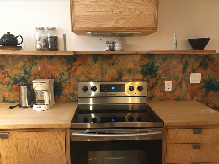 Custom Back Splash