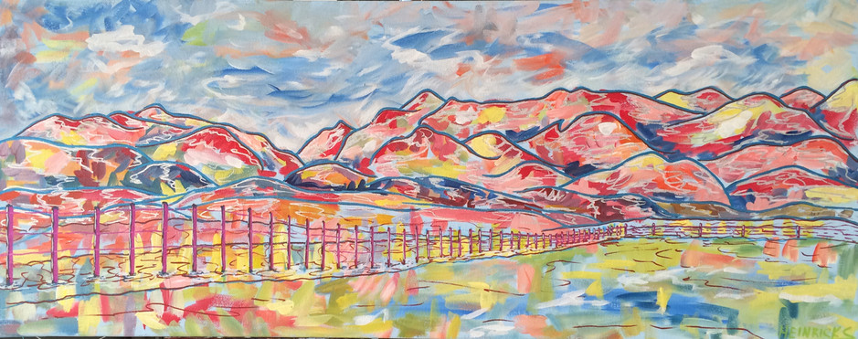 "Old Banff Coach Road | 16"" x 42"" 