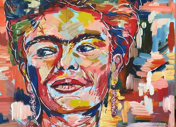 Classic Frida / 12 x 16 / Acid Free Print