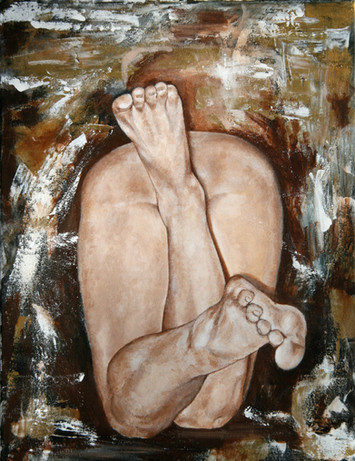 "Toes | 18"" x 24"" 