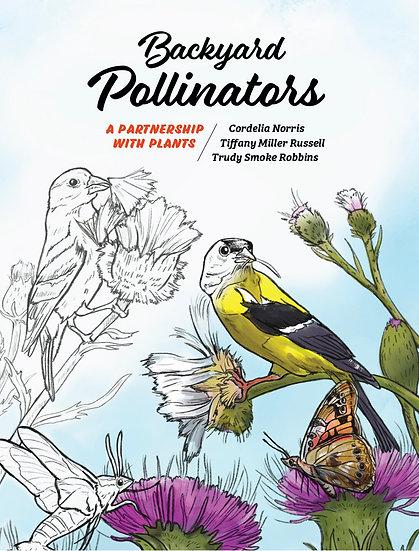 **PRE-ORDER!** Backyard Pollinators Coloring Book- Special Sale!