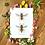 "Thumbnail: Anthidium manicatum male and female 8""x10"" Print"
