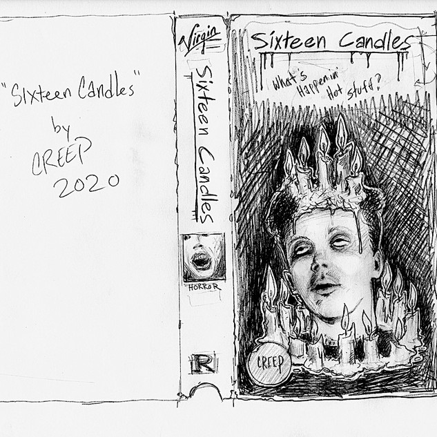 sixteen candles sketch