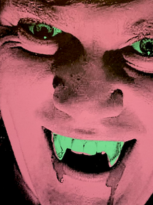 """Vampire Droogie"" (pink) 2/2"