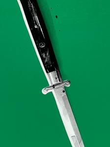 """Flick Knife"" (green) 1/4"