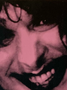 """""""Multiple Maniacs"""" (pink smile) 3/4"""