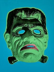 """""""Monster Mask"""" (blue) 4/4"""
