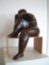 Le repos du sculpteur -Bronze-