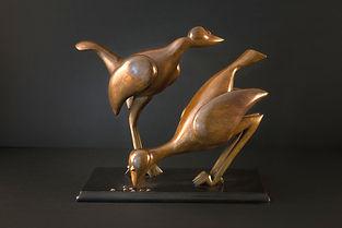 sculpture animalière oiseau