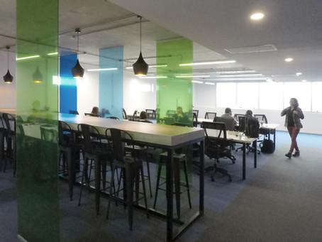 Oficinas open space.