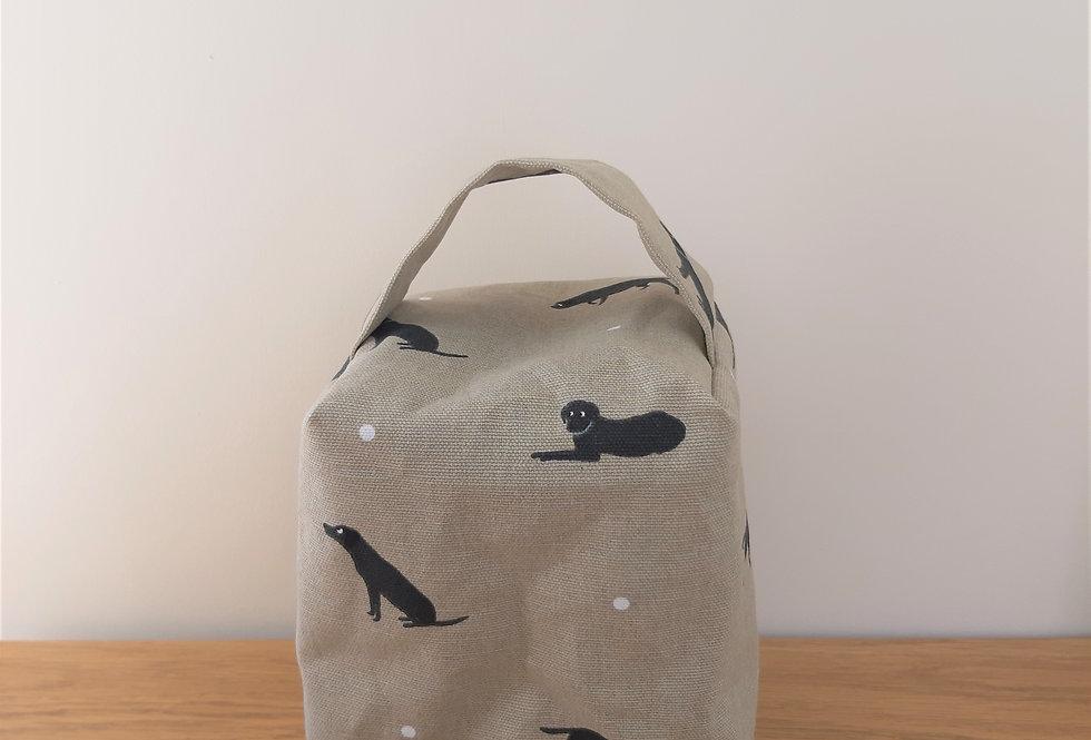 Labrador Doorstop, Handmade in Sophie Allport Fabric