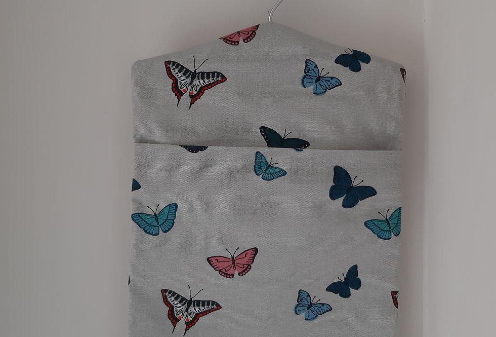 Butterfly Peg Bag, Handmade in Sophie Allport Fabric