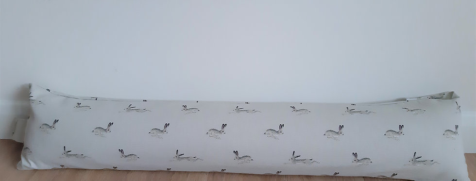 Hare Draught Excluder, Handmade in Sophie Allport Fabric