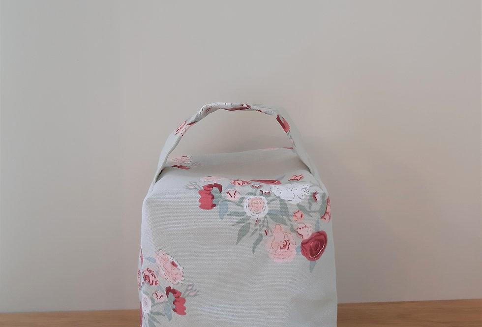 Peony Doorstop, Handmade in Sophie Allport Fabric