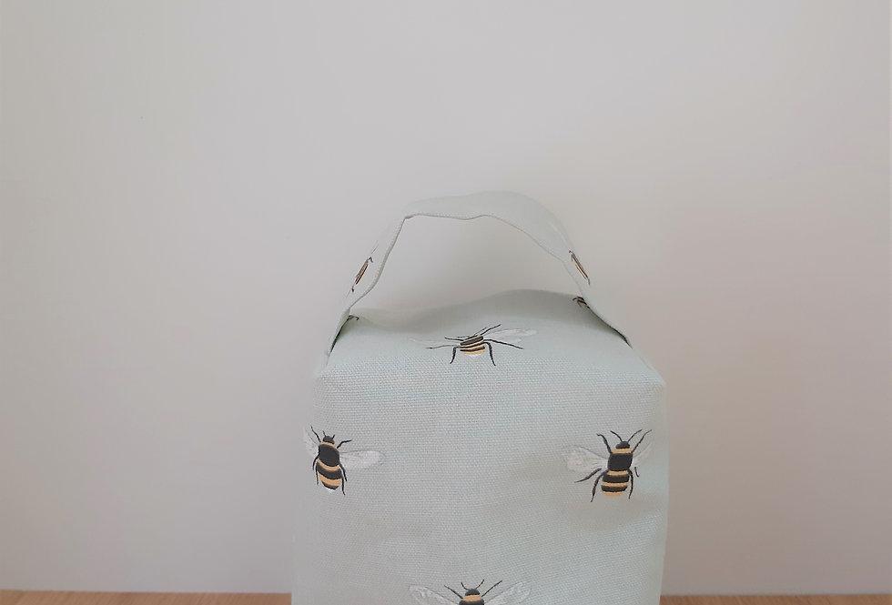 Bee Doorstop, Handmade in Sophie Allport Fabric