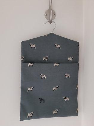 Pug Peg Bag