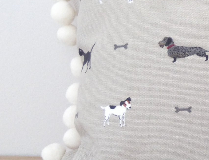 Sophie Allport Pom Pom Cushion Cover