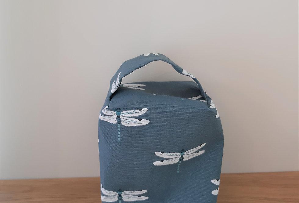Dragonfly Doorstop, Handmade in Sophie Allport Fabric