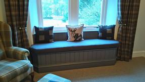 Window seat cushion
