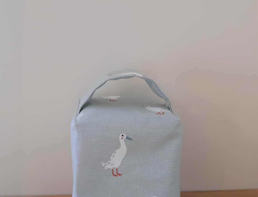 Runner Duck Doorstop, Handmade in Sophie Allport Fabric