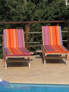 Made to measure replacement sun lounge cushions