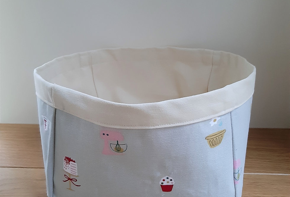 Baking Storage Box, Handmade in Sophie Allport Fabric