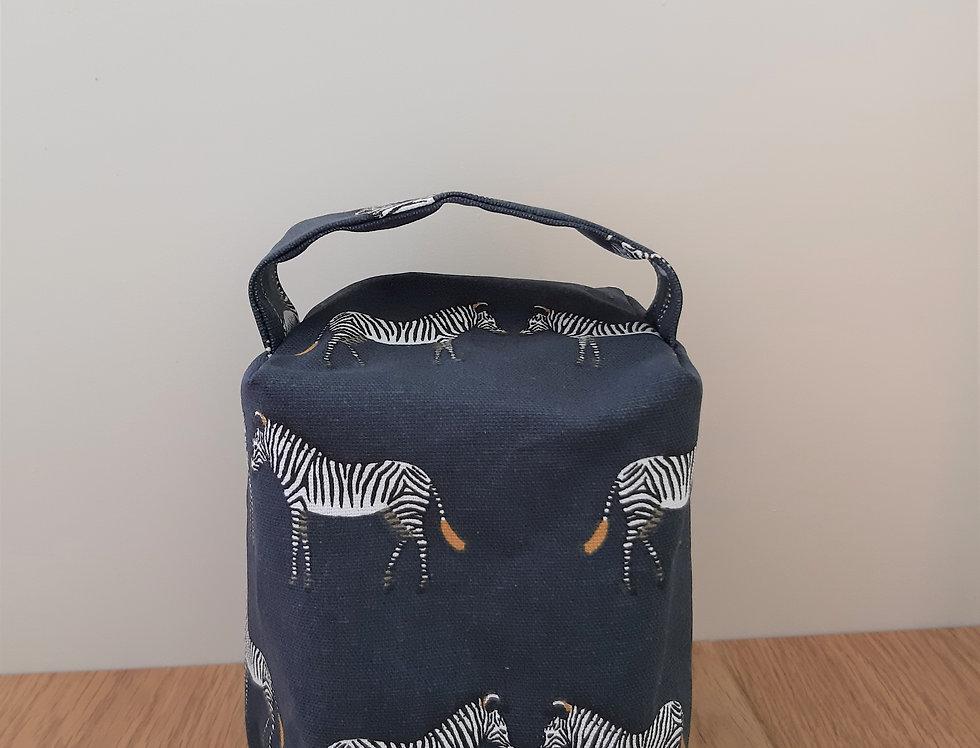 Zebra Doorstop, Handmade in Sophie Allport Fabric