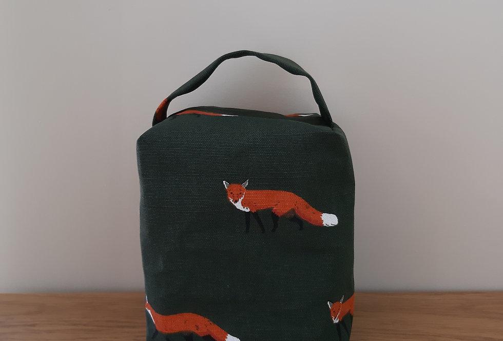 Fox Doorstop, Handmade in Sophie Allport Fabric