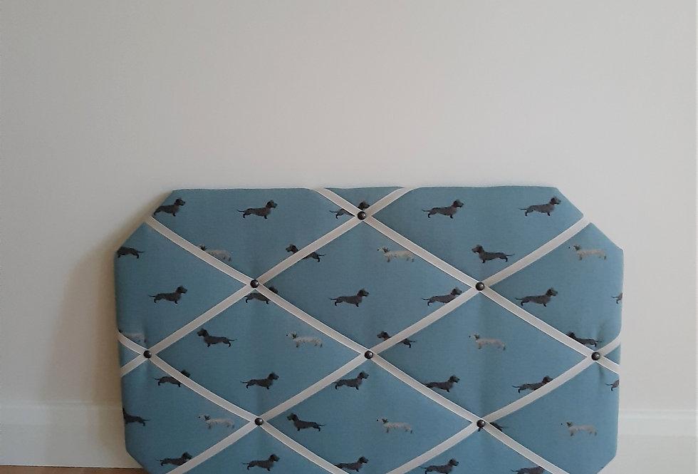 Dachshund Noticeboard, Handmade in Sophie Allport Fabric