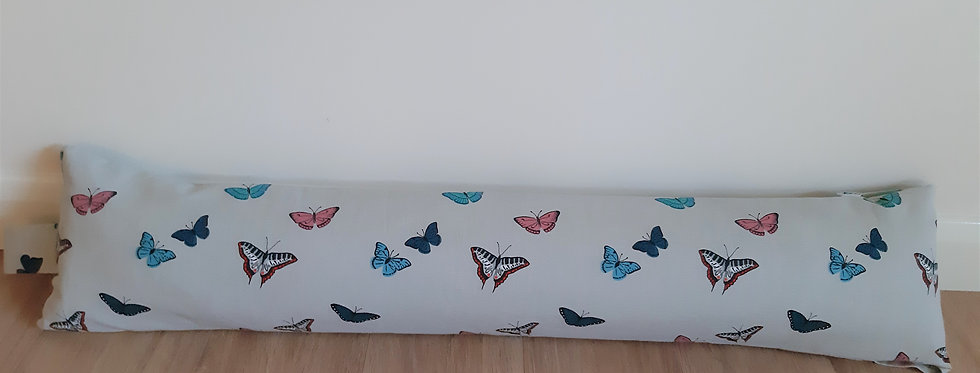 Butterfly Draught Excluder, Handmade in Sophie Allport Fabric