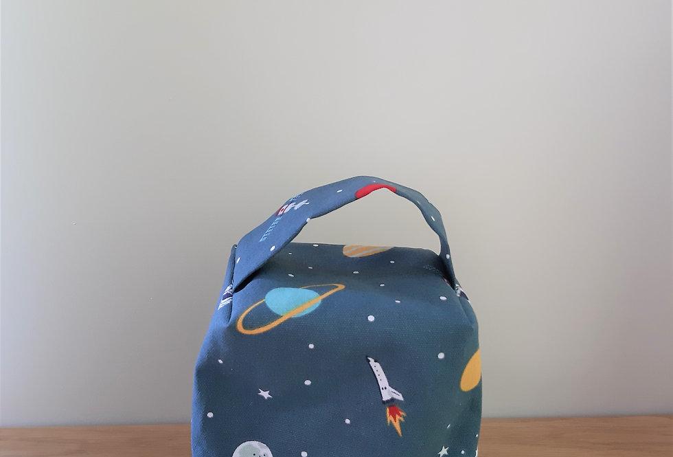 Space Doorstop, Handmade in Sophie Allport Fabric