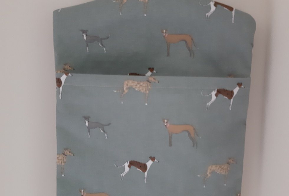 Speedy Dogs Peg Bag, Handmade in Sophie Allport Fabric