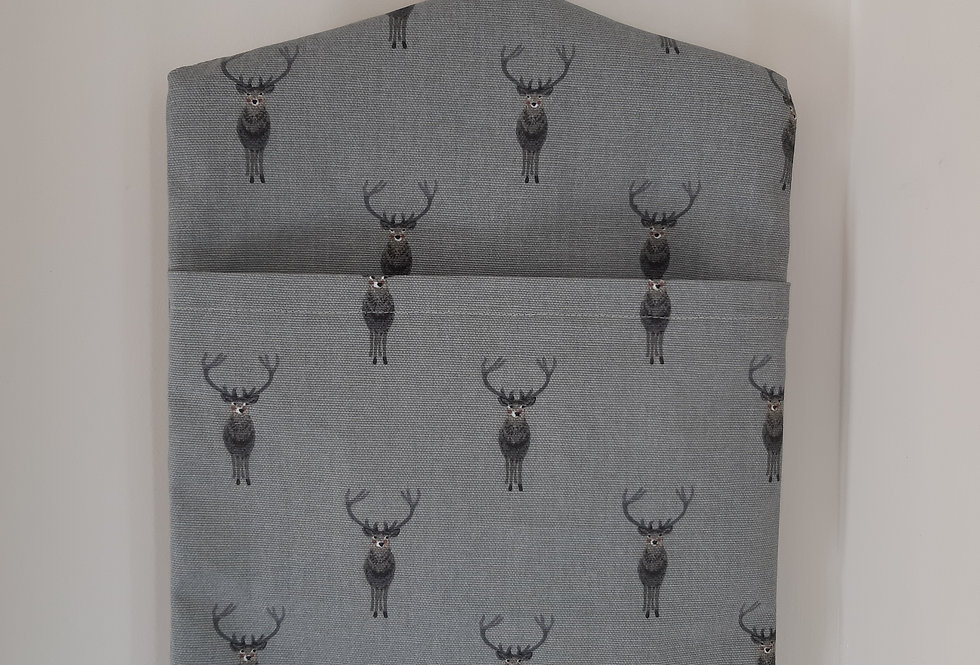 Stag Peg Bag, Handmade in Sophie Allport Fabric