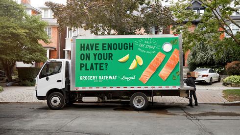 Grocery Gateway Truck