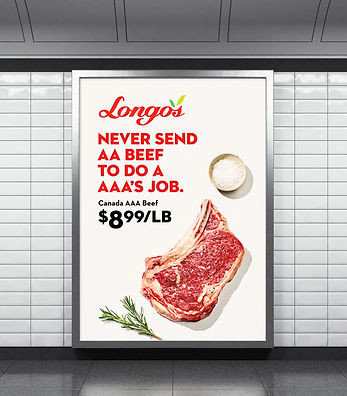 Longos Coflict Advertising