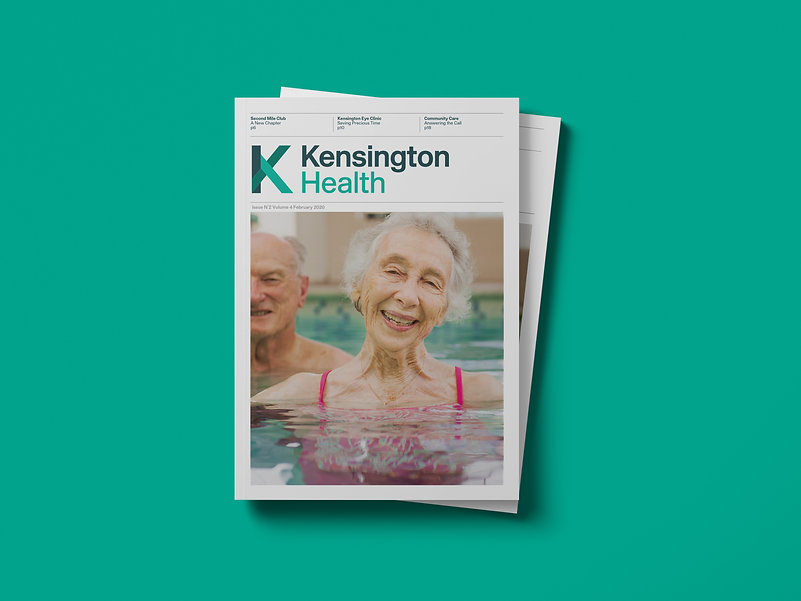 Kensington Health Hospice Brochure Cover
