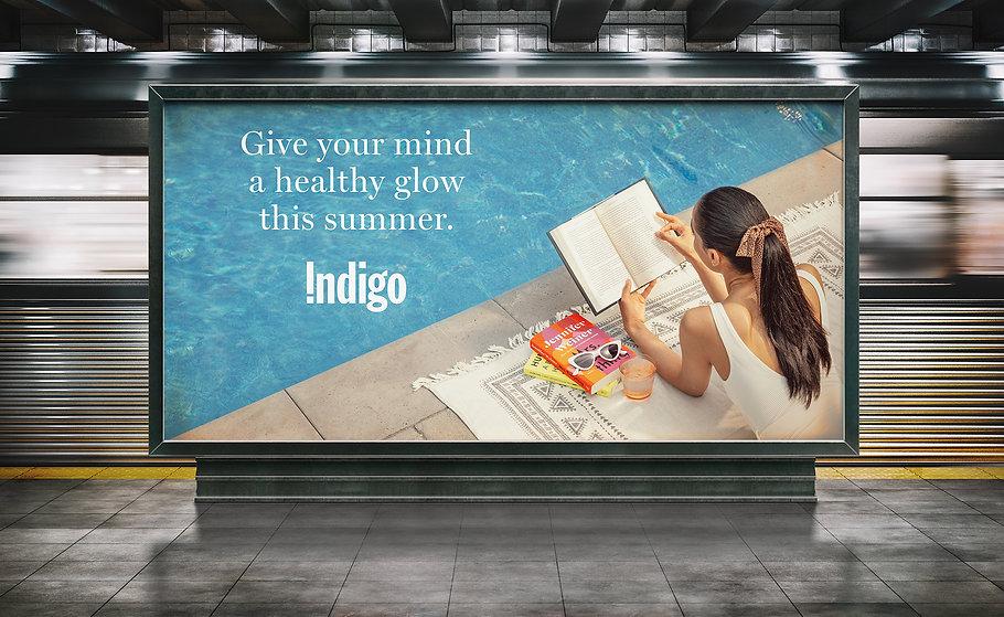 Indigo - Healthy Glow - Subway Platform