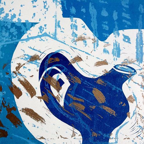 Jacki Baxter - Blue and Gold Jug
