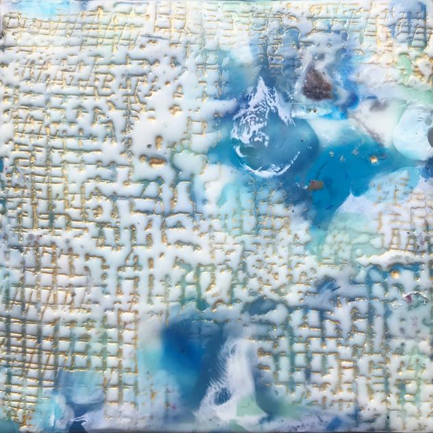 Polar City, 5 x 5 inches
